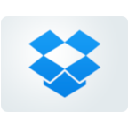 Print and Scan for Dropbox Icon